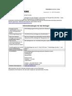 Einleger-Infobogen
