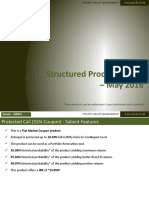 Structured Products May
