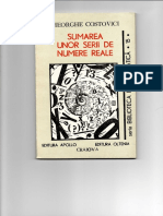 Gh COSTOVICI Sumarea Unor Serii de Numere Reale -1994