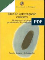 Bases de la investigación cualitativa- A. Strauss & J. Corbin