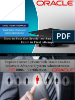 Get Latest Cisco 1z0-822 Exam Questions