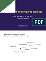 Evandro R. Perotto - Design como Estratégia de Inovação