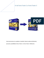 Forex Tester 2 to Forex Tester 3 Transfer Guide ES