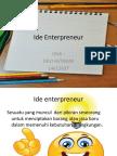 Ide Enterpreneur