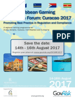 2017 07 19 - Uitnodiging Dutch Caribbean Gaming Regulation Forum 2017