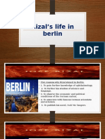 Rizal's Life in Berlin