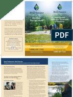 River Source Faith Based Brochure