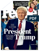 People USA - 21 November 2016