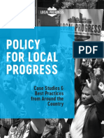 Local Progress 2017 Policy Book