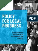 Local Progress 2017 Policy Book