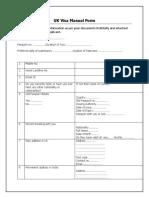 Uk Manual Format