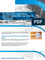 Pair These ICD-10 2018 Official Guideline Updates With Their Code Set Co...