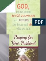 Praying for My Husband