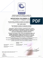 Iso 14001. Pavco.