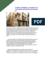 Edificios protegidos en mal estado