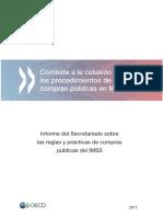 combate a la colución en mexico