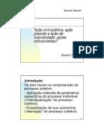 Acao Civil Publica Acao Popular e Acao d