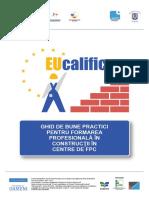 GHID de Bune Practici Pentru Formarea Profesionala in Constructii