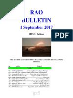 Bulletin 170901 (HTML Edition)