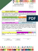 Evaluacion Formativa Enero k1-2