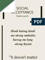 Lec 4 Lynch Social Acceptance
