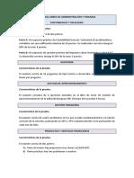 Calendario y Caracteristicas de Las Pruebas Libres Administración y Finanzas