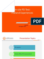 PD test at site