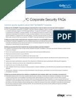 GoToMyPC Corporate Security FAQs