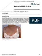 Erythroderma (Generalized Exfoliative Dermatitis)_ Background, Pathophysiology, Epidemiology