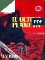 El Ultimo Planeta - F. Valverde Torne