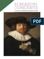 Eliot Fisks Concert Program and Notes