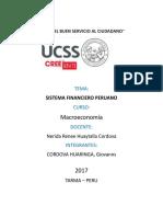 El Sistema Financiero Peruano-giovanns Cordova