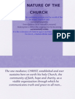 3.Nature of the Church