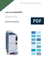 WEG Sca06 Manual de Programacion 10002087686 1.2x Manual Espanol