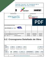Cronograma Detallado de Obra Estación 23
