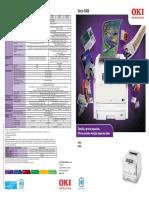 Impresora OKI Laser Color A3 C810 C830