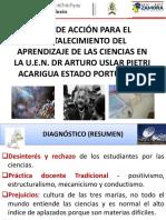 UEN DR ARTURO USLAR PIETRI PLAN DE ACCIÓN PARA EL FORTALECIMIENTO DE LA CIENCIA.pptx