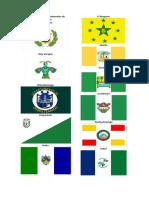 Banderas de Los Departamentos de Guatemala