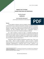 Modelo de Tutoria Construção Dialógica de Sentido