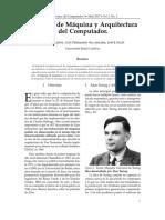Lenguaje de Maquina y Arquitectura de Computador.