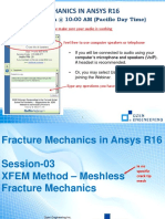 FractureMechanicsWebinarSeries Part3 XFEM Meshless