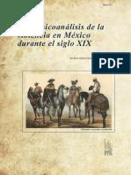 Sociopsicoanálisis de la violencia en México durante el siglo XIX Luis Xavier Sandoval García