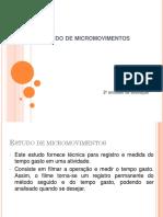 Estudo de Micromovimentos