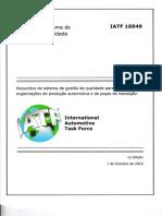 IATF 16949 2016 Portugues-Brasil