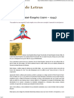 Antoine de Saint-Exupéry (1900 – 1944) _ Oceano de Letras
