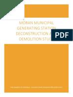 CEDO Moran Plant Demolition Report