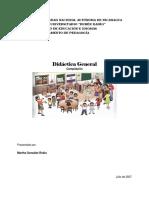 Documento Didáctica General UNAN-Managua