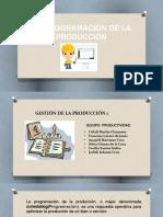 4.5 Programacion de La Produccion