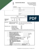 F 030123 Questionnaire Blower ES