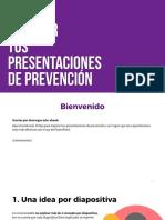 Cómo Mejorar Tus Presentaciones de Prevención